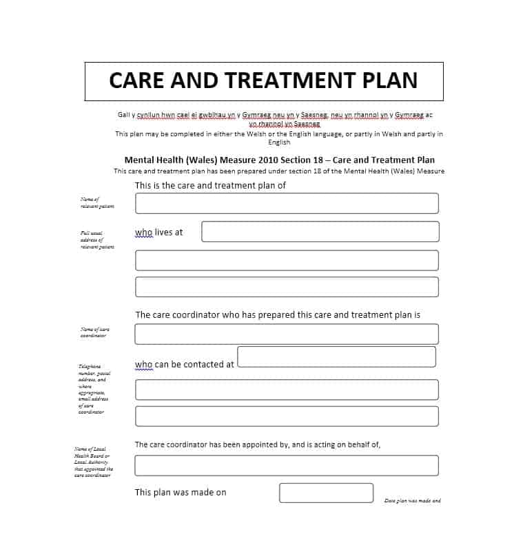 35 Treatment Plan Templates (Mental, Dental, Chiropractic + MORE)