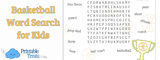 Give A Like For This Free And Fun Basketball Word Search