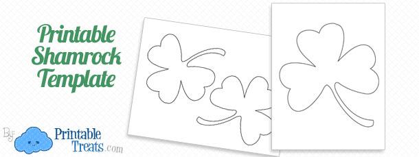 Printable Shamrock Template u2014 Printable Treats - shamrock template