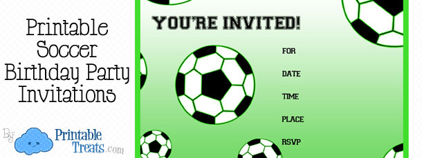 Free Invitation Birthday Soccer \u2013 orderecigsjuiceinfo - free templates for invitations birthday