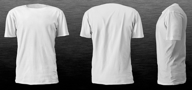 T-Shirt Mockup Templates to Help Display T-Shirt Designs Print