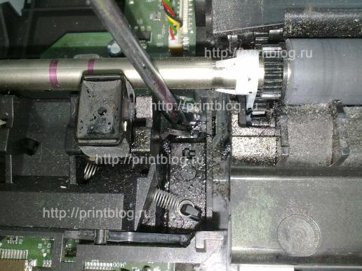 Разборка HP F2180, F380