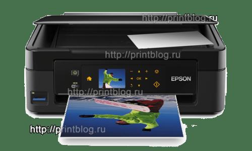 Скачать бесплатно драйвер для принтера Epson Expression Home XP-402