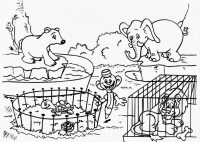 14 zoo coloring pages zoo animals printable pictures ...