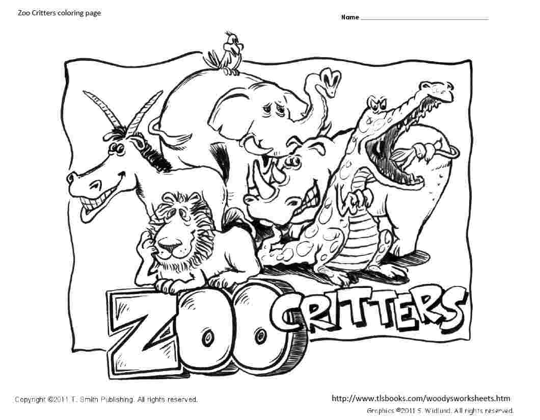 Zoo coloring pages 13 printable coloring pages
