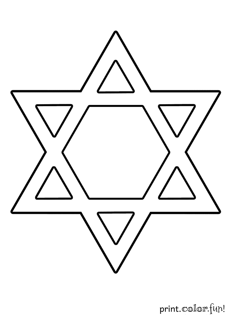 printable coloring pages jewish