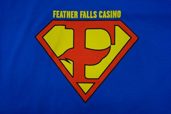 Feather falls casino screen print