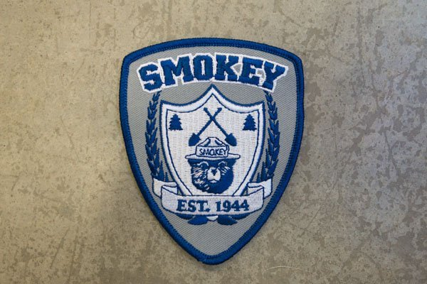 smokey bear est patch