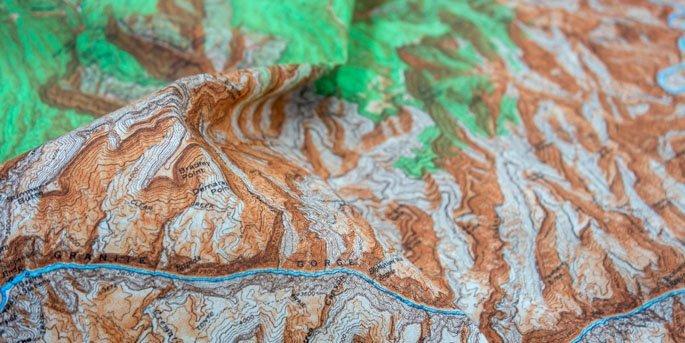 topo map closeup