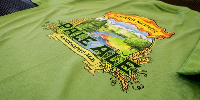 Sierra Nevada Pale Ale shirt