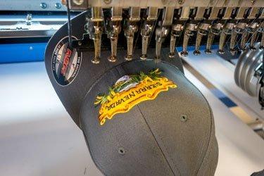 Sierra Nevada hat embroidered