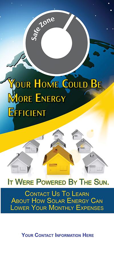 Solar Power Marketing - Door Hanger Templates - Door Hanger Marketing