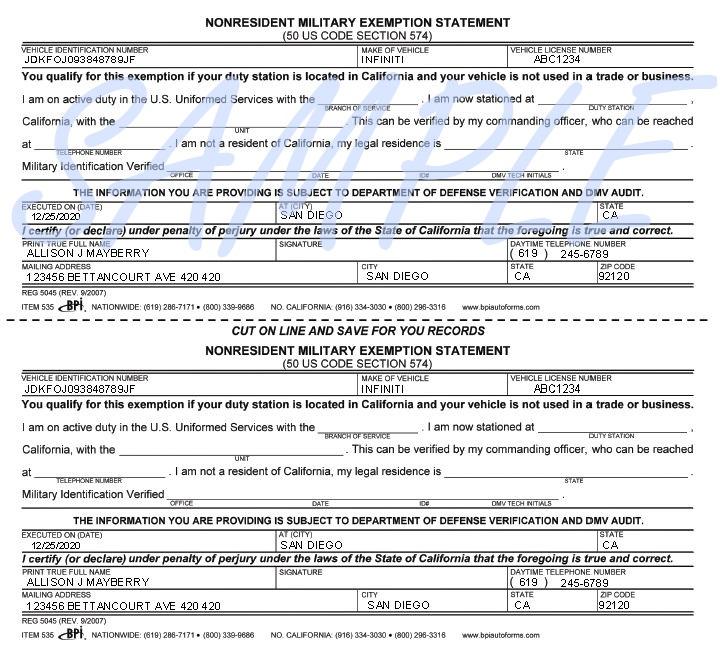Printerformsbiz Sample E-Forms - affidavit statement of facts