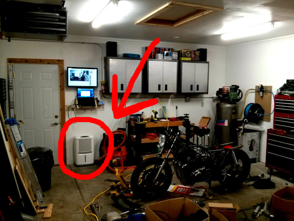 Garage Workshop Fan Garage Dehumidifier Best Dehumidifier For Garage Workshops