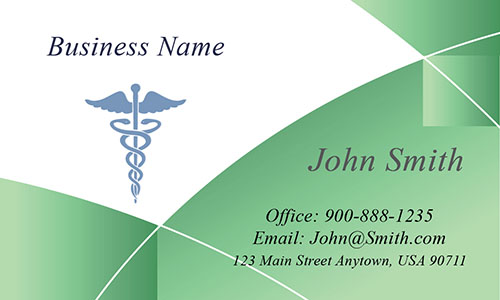 Health Care Business Card Medical Doctor Card Templates - medical business card templates