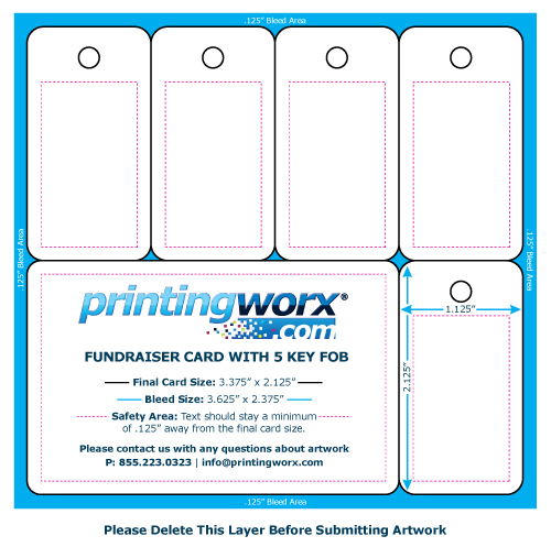 Fundraising Card Templates by Printingworx