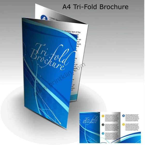 Trifold  Bifold Brochures - Printers in Lagos Print Business - tri brochures