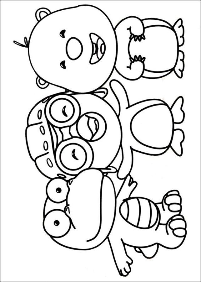 Dibujos Para Colorear Pat El Cartero Imprimible Gratis - Auto ...