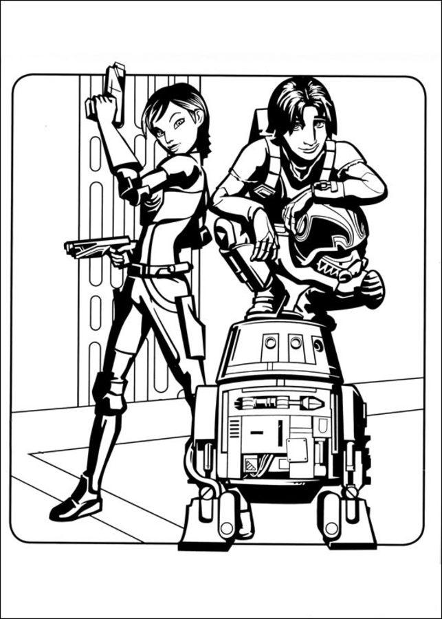 Disegni Da Colorare Star Wars Rebels Stampabile Gratuito