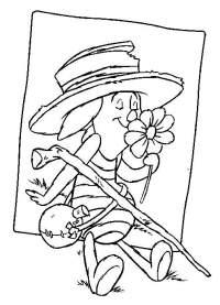 10 Disegni Da Colorare Winnie The Pooh