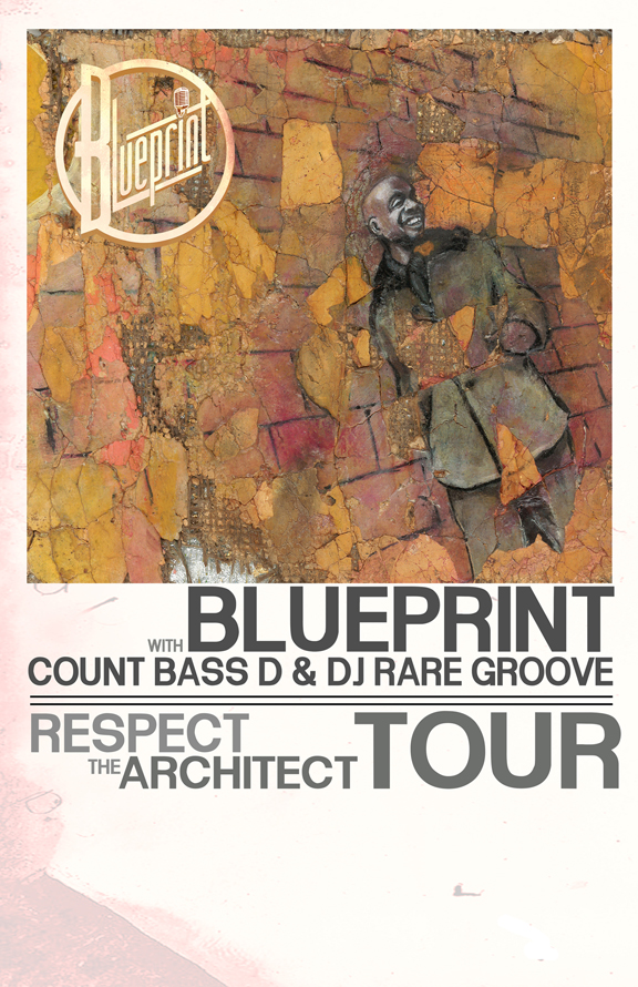 Blueprint announces respect the architect tour dates weightless rtatourposterweb blueprint malvernweather Images