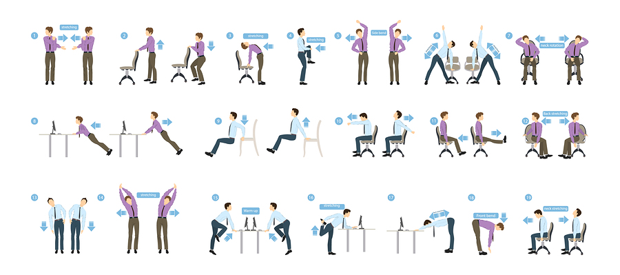 10 Best Exercise Posters PrintMePoster Blog - office exercise