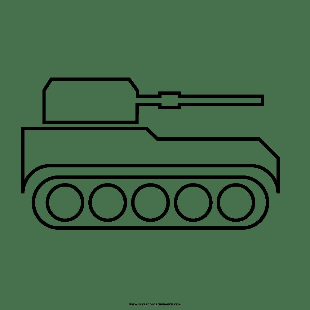 Carro Armato Disegni Da Colorare