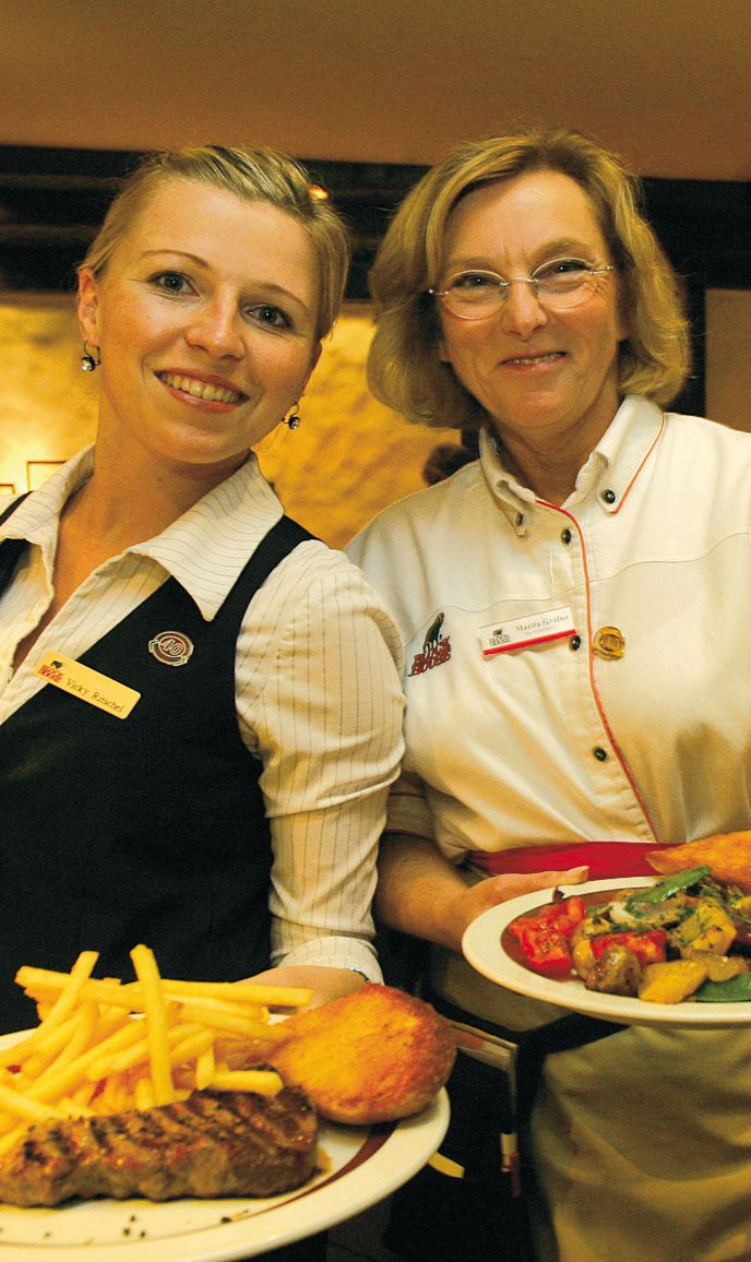 Amerikanische Restaurants Hannover Internationale Küche: Block House Hannover - Am Kröpcke