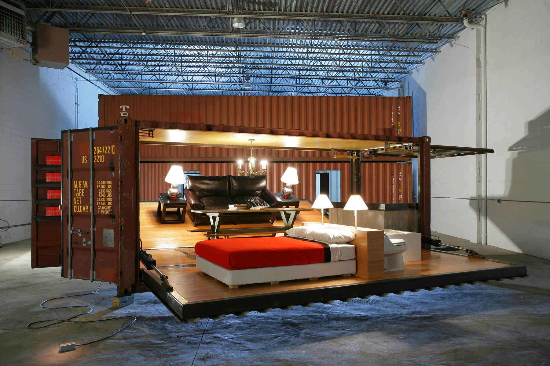 Design Container Haus Turning To Smaller Compact Living Quarters Focus On Shipping