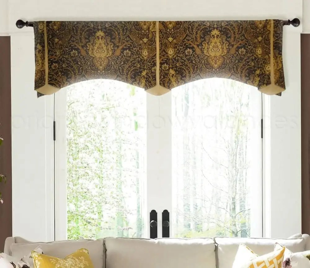 How Many Yards Of Fabric For Curtains How Much Fabric For A Valance Examples With Yardage