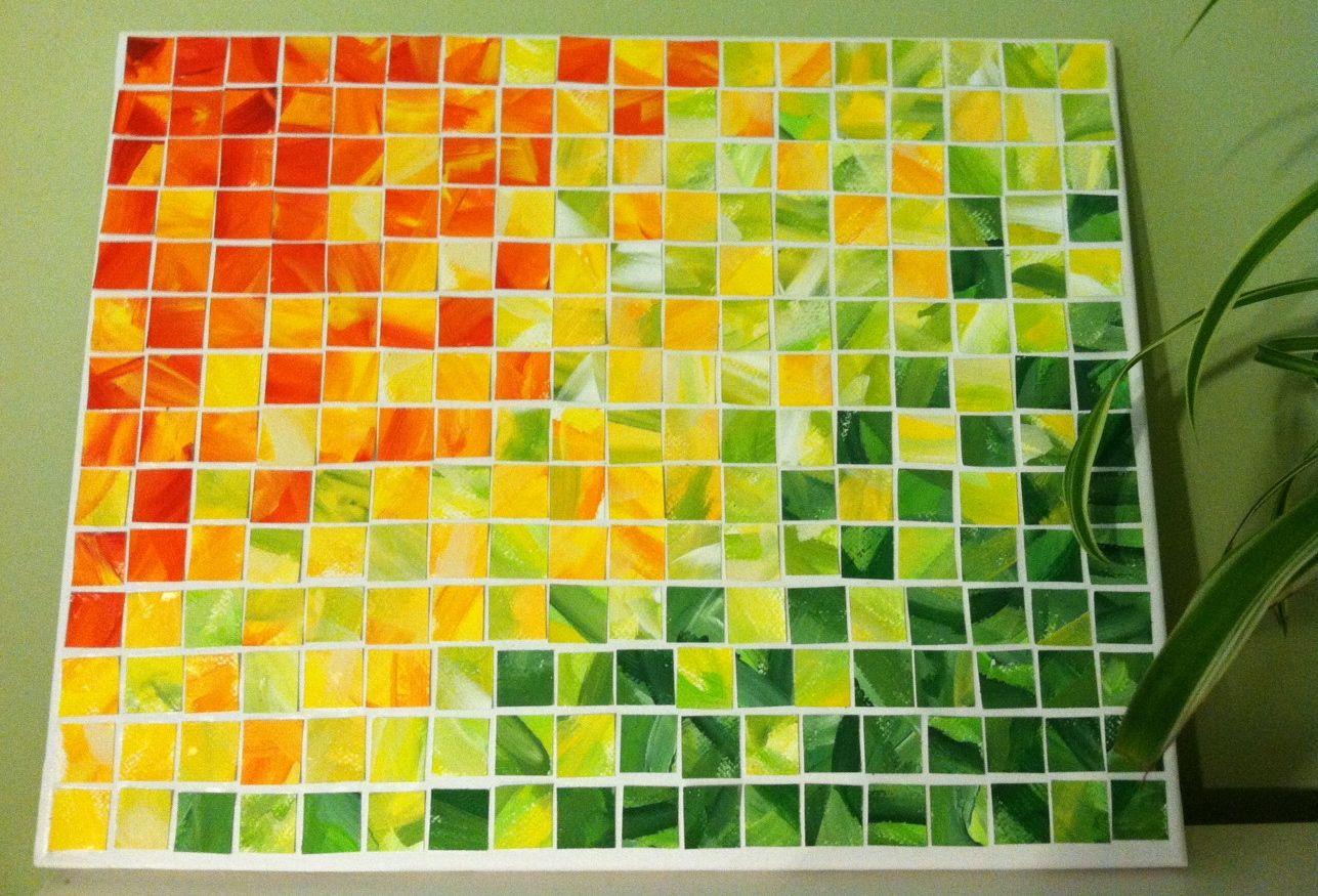 Enchanting Diy Paint Chip Wall Art Embellishment - Wall Art ...