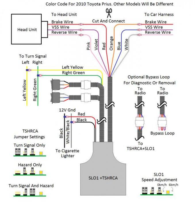 prius c radio wiring diagram