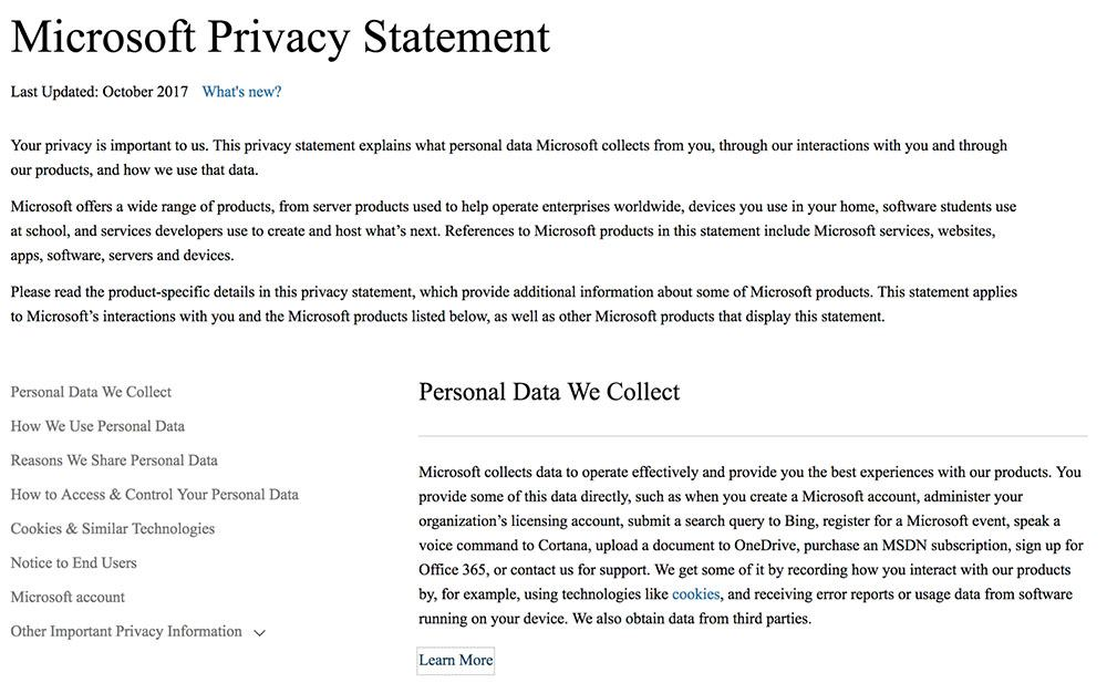 Privacy Policy for a SaaS Business - PrivacyPolicies - privacy statement
