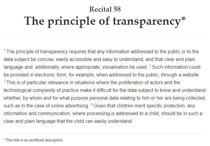 GDPR Privacy Policy Template - PrivacyPolicies