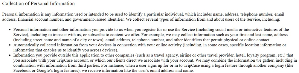 Privacy Policy for Social Login - PrivacyPolicies