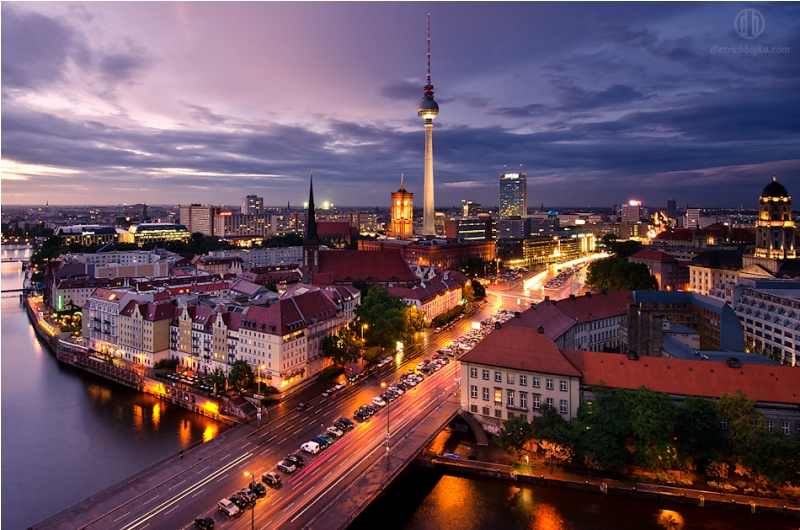 Berlin Like Night And Day Urban Tourism