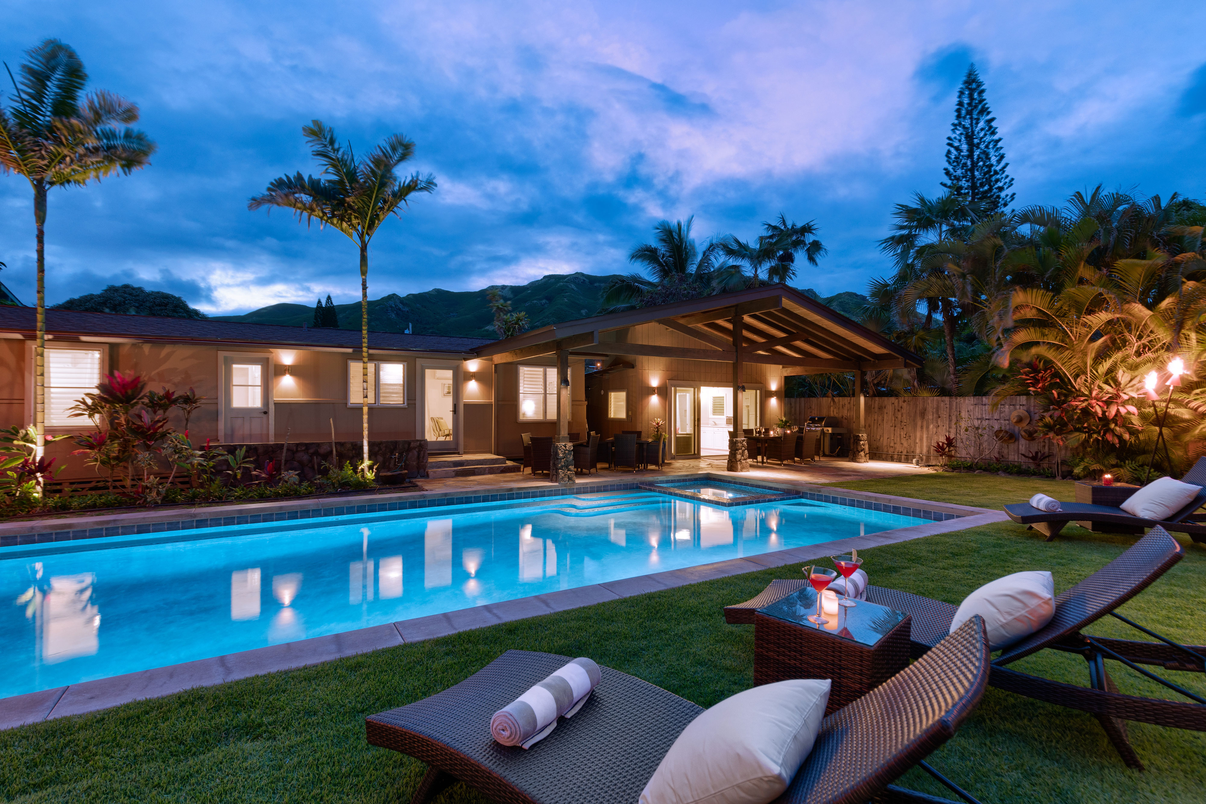 luxury homes for rent in hawaii