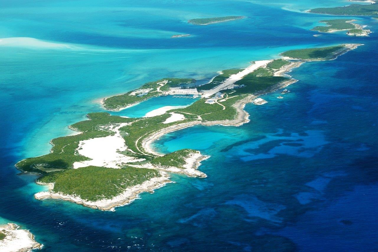 Prive Eiland Cave Cay The Exumas Bahamas Caribbean Private