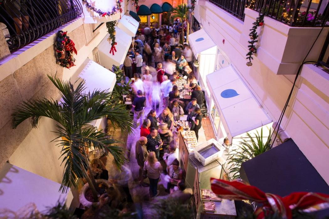 Palm Beach Food & WIne Fest Grand Tasting Area © LILA PHOTO
