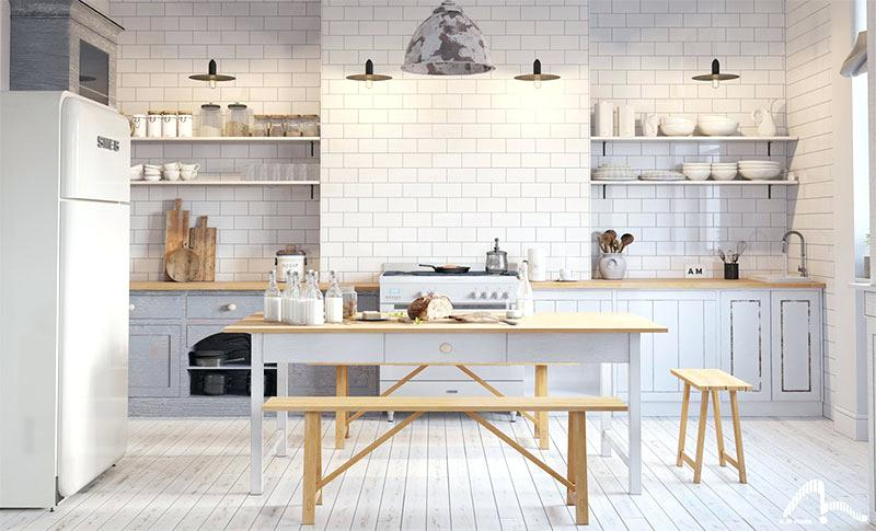 Credence Cuisine Style Scandinave