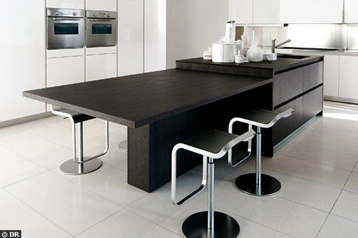 Table De Cuisine Extensible Ilot Cuisine Table Extensible