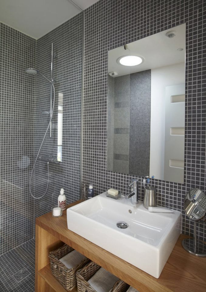 De la mosaïque dans une salle de bains  combien ça coûte au m2
