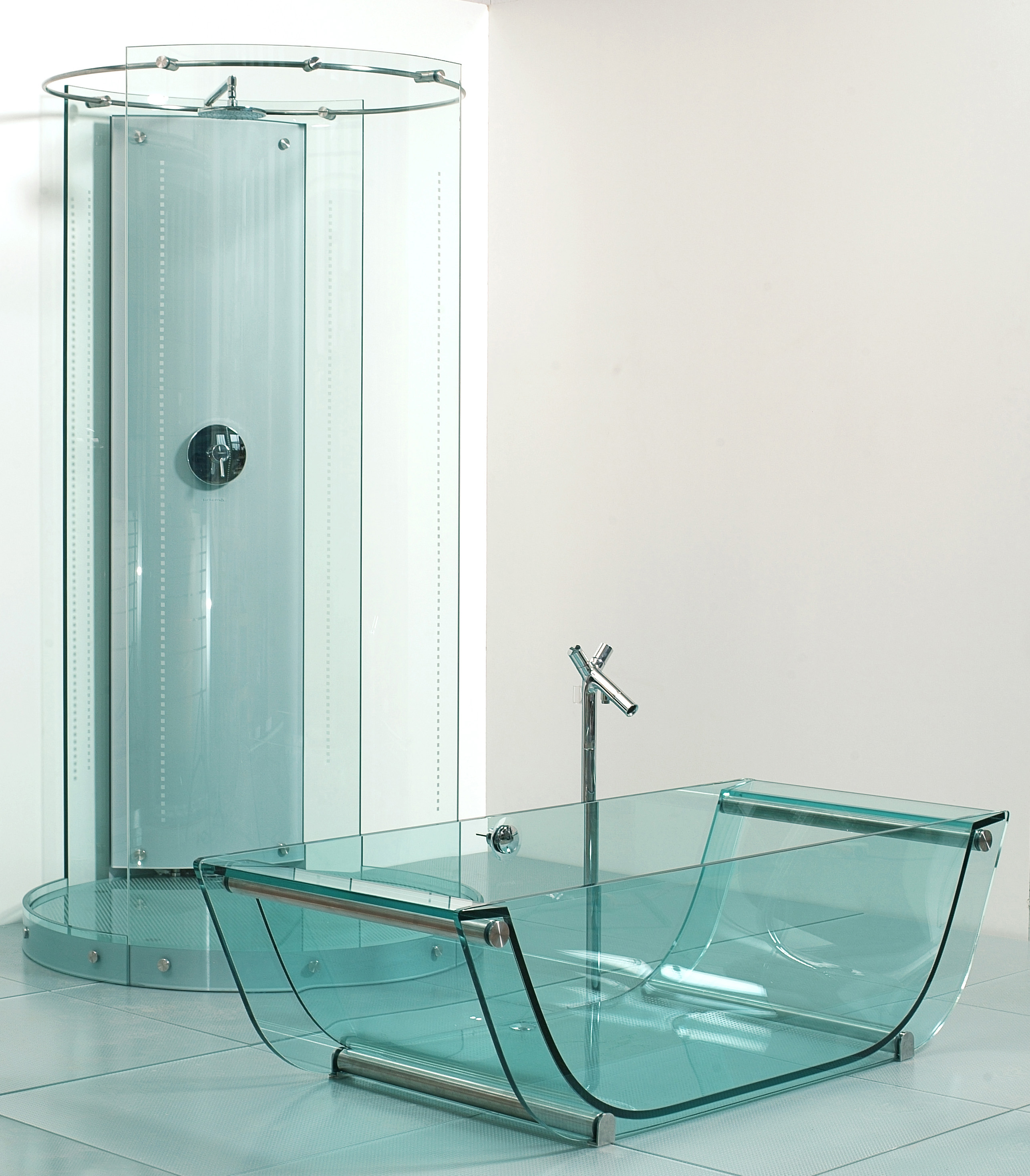Glas Wc Prizmastudio Prizma Presents A Complete Glass Bathroom