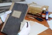 Archivierung-Staubpinsel