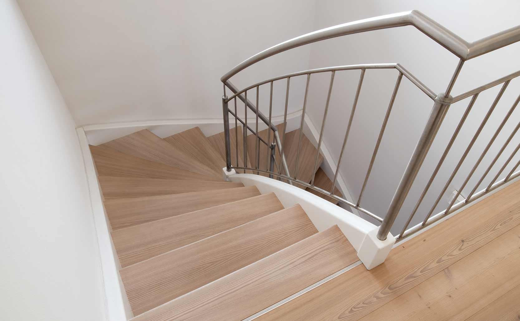 Laminaat trap unique trap bekleden met laminaat ideasnieuw trap