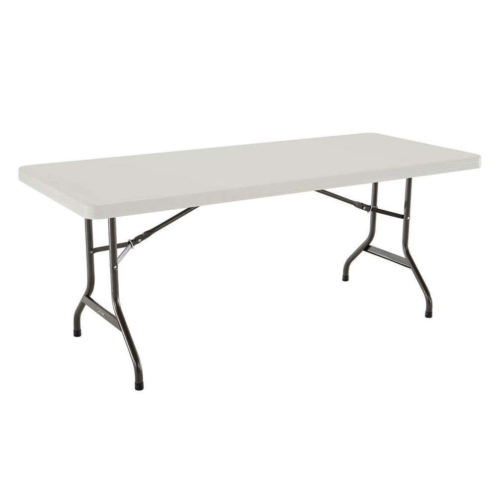 Table Rectangulaire 8 Personnes Table Pliante Rectangulaire 183cm Beige 8 Personnes Table