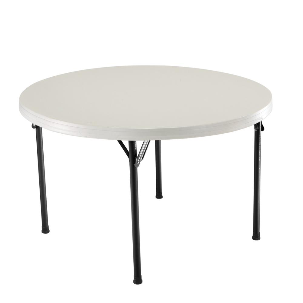 Table Pliante 4 Personnes Table Pliante Gap Less Grise 4 Personnes