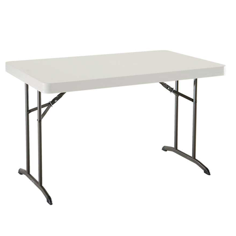 Pied Table Pliant Table Pliante Rectangulaire 122cm 4 Personnes Table Pliante