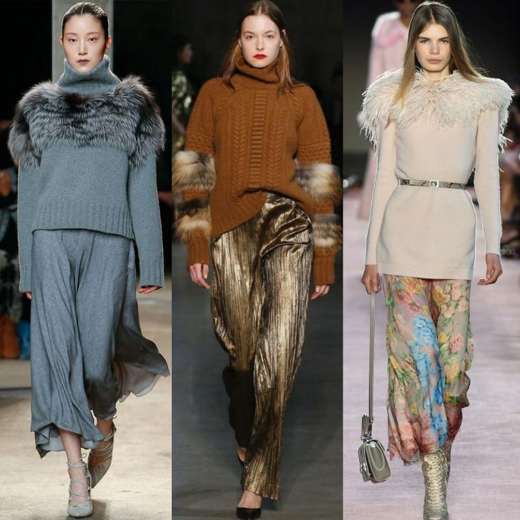 Модные свитера осень-зима 2018-2019 | 68 фото, женские вязаные и трикотажны модели
