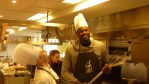Chef looks up at Amir